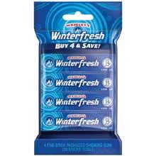 Wrigleys Winterfresh Gum - 4 pack sleeve