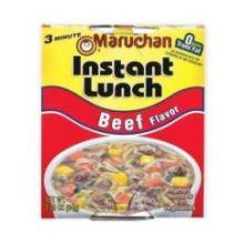 Maruchan Instant Lunch Beef Flavor - 2.25 oz. cup