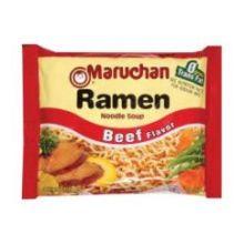 Maruchan Ramen Noodle Soup Beef Flavor - 3 oz. package