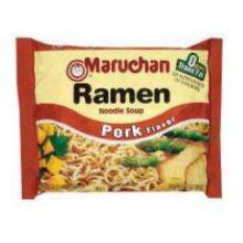 Maruchan Ramen Noodle Soup Pork Flavor - 3 oz. package
