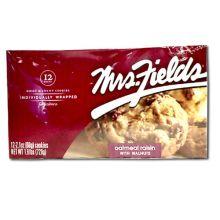 Mrs Fields Famous Brands Oatmeal Raisin Cookies