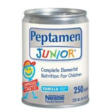 Nestle Peptamen Junior - Unflavored Complete Peptide Based Elemental Nutrition 1000 Milliliter