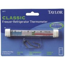 Taylor Classic Freezer Refrigerator Tube Thermometer 1 Ounce