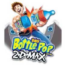 Topps Baby Bottle Pop 2D Max - box of 18 pops
