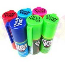 The Topps Company Push Pop Candy 0.5 Ounce