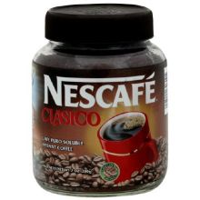 Nescafe Clasico Instant Coffee - 7 oz. jar Mfg 5254