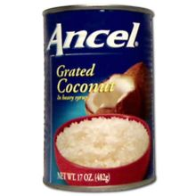 Goya Ancel Grated Coconut in Syrup
