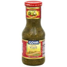 Goya Mexican Verde Salsa 17.6 Ounce