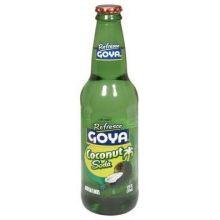 Goya Refresco Coconut Soda 12 Ounce