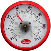 Refrigerator Freezer Milk and Walk In Cooler Thermometer