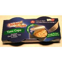 Chicken of the Sea Chunk White Tuna in Water in a Cup 2.8 Ounce
