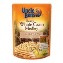 Mars Uncle Bens Ready Whole Grain Medley Rice 8.5 Ounce