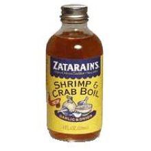 Zatarains Garlic and Onion Liquid Shrimp and Crab Boil 8 Ounce