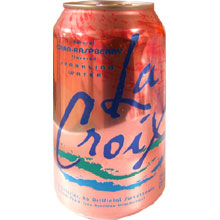 Lacroix Cran Raspberry Sparkling Water - Can 12 Ounce