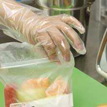 ValuGards Econo Poly Clear Disposable Gloves
