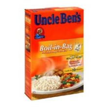 Uncle Bens Boil In Bag Enriched Long Grain Rice 15.8 Ounce