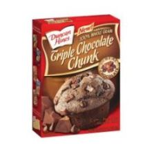 Duncan Hines Triple Chocolate Chunk Muffin Mix