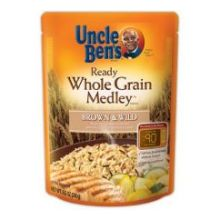 Uncle Bens Ready Whole Grain Medley Rice 8.5 Ounce