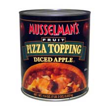 Knouse Foods Musselmans Assorted Pizza Topping 114 Ounce