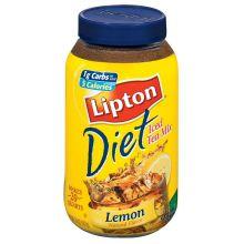 Lipton Diet Lemon Iced Tea Mix - 5.9 oz.