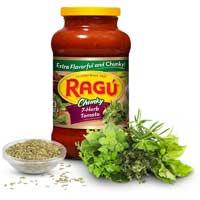 Ragu 7 Herb Tomato Robusto Sauce 26 Ounce