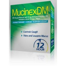Mucinex DM Expectorant and Cough Suppressant Tablet