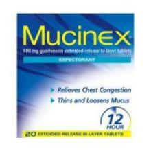Mucinex Expectorant Tablet
