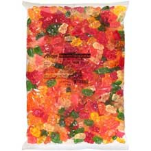 Fisher Gummy Bears Candy 5 Pound 4 per case