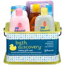 Johnsons Bath Discovery Baby Gift Set 7 ct Set