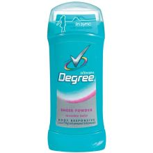 Degree Antiperspirant and Deodorant Sheer Powder 2.6 Ounce
