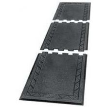 Cactus Mat Black Comfort Zone Rubber Mat 1/2 inch Thick 28 x 36 inch