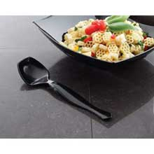 Yoshi Ware Emi Party Tray Clear Plastic Serving Spoon