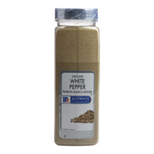 McCormick Ground White Pepper - 18 oz. container