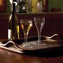 Yoshi Ware Emi Square Wine Glass 8 Ounce