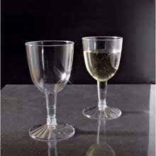 Yoshi Ware Emi Resposable Clear Wine Goblet Glass 5 Ounce