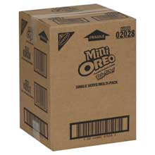 Nabisco Multipacks Oreo Mini Sandwich Cookies 12 Ounce