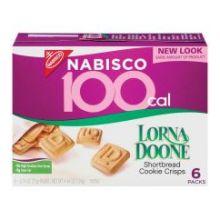 100 Calorie Lorna Doone Shortbread Crisp Cookies