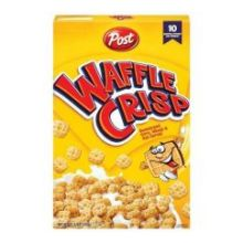 Post Waffle Crisp Cereal 11.5 Ounce