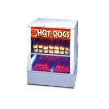 Stainless Steel and Tempered Glass Mr Frank Hot Dog Steamer