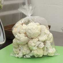 TuffGards Clear Low Density Food Storage Bags
