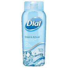 Dial Spring Water Clean and Refresh Antibacterial Body Wash 24 Ounce