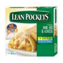 Lean Pockets Ham Cheese and Egg Sandwich
