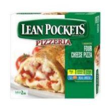 Lean Pockets Four Cheese Pizza