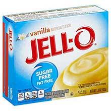 Jello Instant Sugar Free Vanilla Pudding