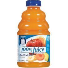 Gerber 100 Percent Fruit Juice