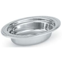Miramar Stainless Steel Small Oval Decorative Food Pan