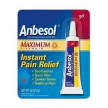 Maximum Strength Oral Anesthetic Toothache Pain Relief Gel