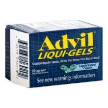 Liqui Gels Solubilized Ibuprofen Liquid Filled Capsule