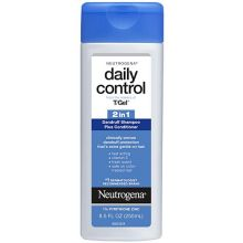 T Gel Daily Control 2 in 1 Dandruff Shampoo Plus Conditioner