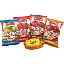 Seneca Cinnamon Apple Chips - 2.5 oz. bag